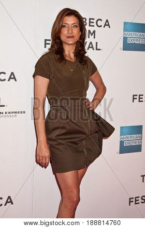 NEW YORK-APRIL 22: Actress Kate Walsh attends the premiere of 'Angel's Crest' during the 2011 Tribeca Film Festival at BMCC Tribeca PAC  New York City. 04/ 22/ 11