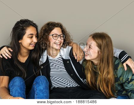 Group of Diverse Young Adult Friendship Together Tutorial