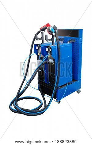 The image of a welding machine