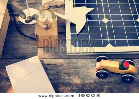 Solar cell ecological innovate generate power