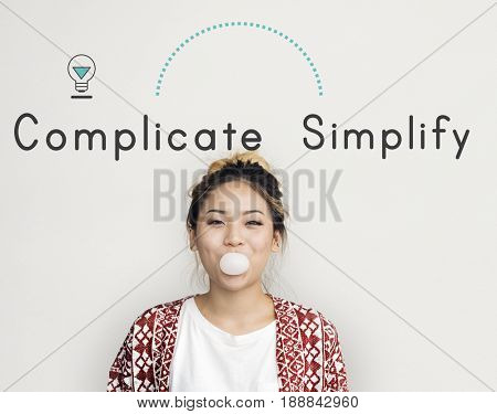 Antonym Opposite Complicate Simplify SImply Complex