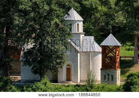 small church of Sudikova Monastery near Berane, Serbia