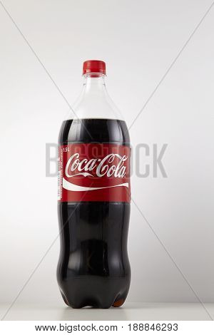 KUALA LUMPUR, MALAYSIA - May 29th 2017, Coca Cola drinks are produced and manufactured by The Coca-Cola Company, an American multinational beverage corporation.