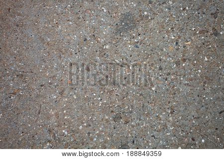 Texture Of A Dry Concrete Pavement