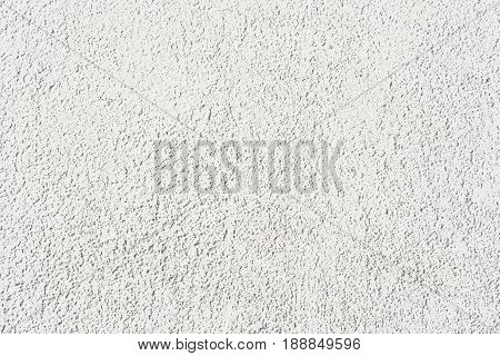 Decorative white-gray plaster used as a background