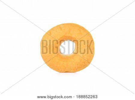 front view donuts on a white background