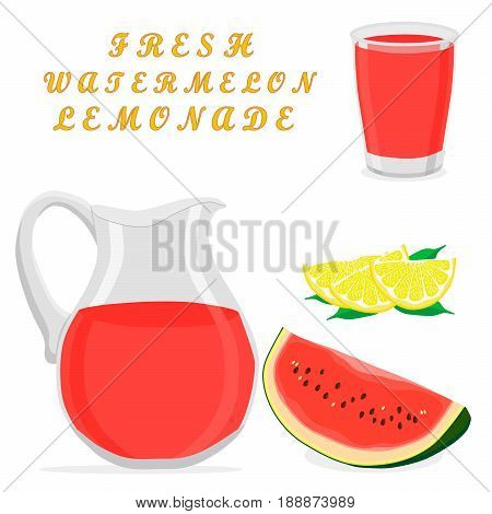 Vector illustration logo for yellow jug liquid lemonade lemon background.Jug pattern consisting of glass pitcher filled waters lemonades natural product.Lemonade drink fresh raw organic liquid of jugs