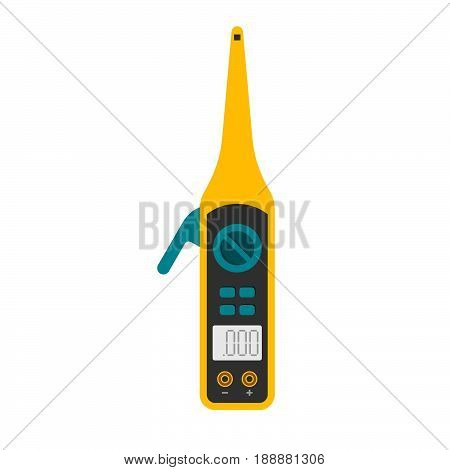 Voltage detector for testing voltage supply on white