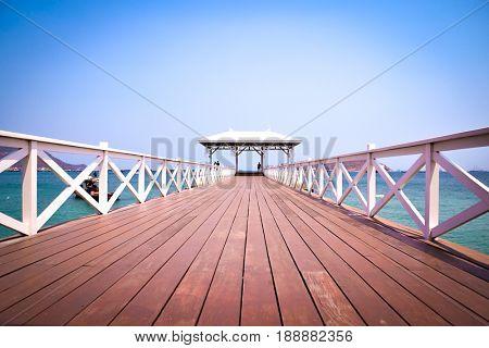 Koh Sechang , Pattaya , Chonburi , Bridge.