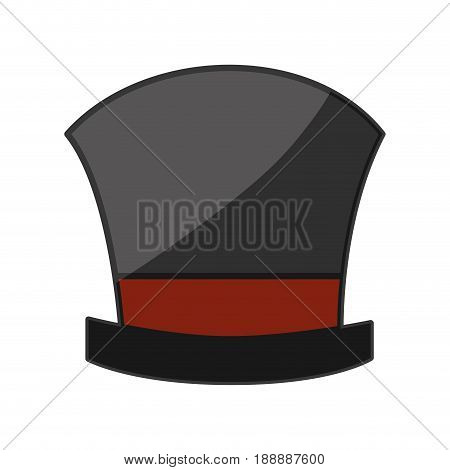 Magician hat wear icon vector illustration graphic design
