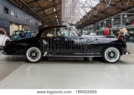 BERLIN - MAY 13 2017: Luxury car Bentley R-Type Continental Coupe