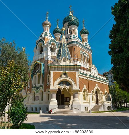 The St. Nicholas Orthodox Cathedral