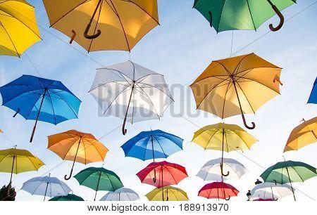 flying umbrellas HD Wallpapper  public domain images