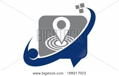 This image describe about Technology Share Communication Location