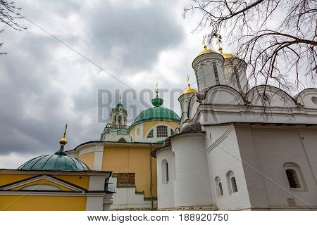 On The Territory Of The Holy Transfiguration Monastery, Yaroslavl, Russia