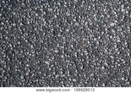 tarmac texture on a street in Bergen city, Norway