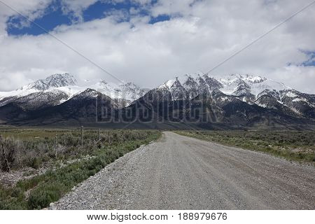 Mt. Borah (left) is Idaho's tallest peak and is located in Lost River Mountains between Challis and Mackay.