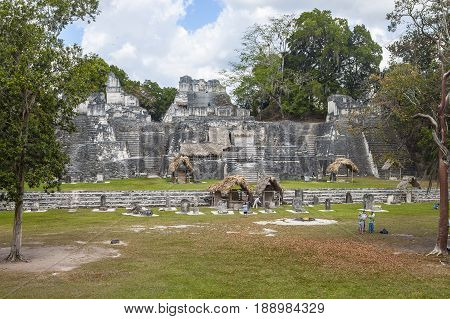 Temple Iv In Tikal Guatamala