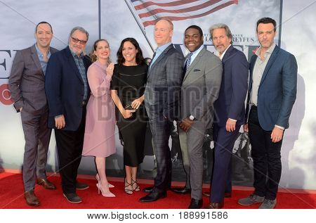 LOS ANGELES - MAY 25:  VEEP Cast at the FYC for HBO's series VEEP 6th Season at the ATAS Saban Media Center on May 25, 2017 in North Hollywood, CA