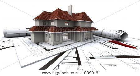 House On Architect'S Plans