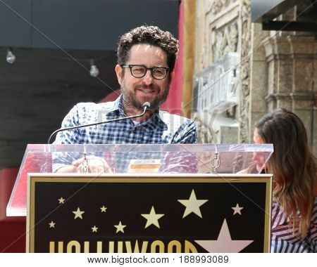 LOS ANGELES - MAY 30:  JJ Abrams at the Keri Russell Honored With a Star Ceremony on the Hollywood Walk of Fame on May 30, 2017 in Los Angeles, CA