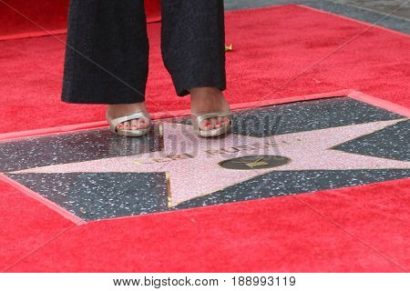 LOS ANGELES - MAY 30:  Keri Russell feet on her Star at the Keri Russell Honored With a Star Ceremony on the Hollywood Walk of Fame on May 30, 2017 in Los Angeles, CA