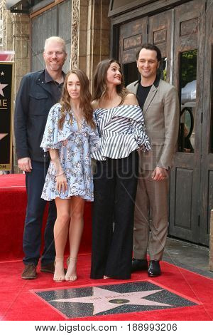 LOS ANGELES - MAY 30:  Noah Emmerich, Holly Taylor, Keri Russell, Matthew Rhys at the Keri Russell Honored With a Star Ceremony on the Hollywood Walk of Fame on May 30, 2017 in Los Angeles, CA