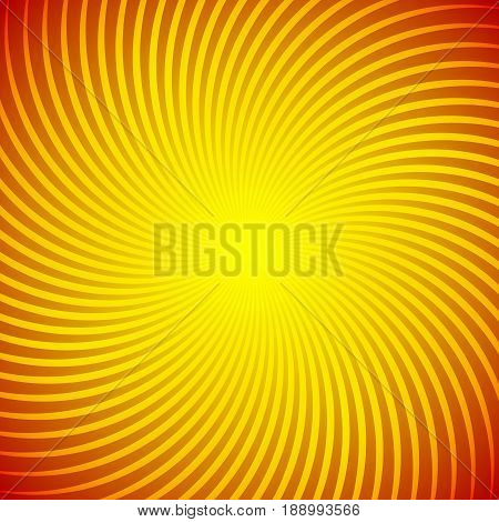 Abstract background with a bright sunny yellow rays. Substrate for holiday cards and advertising. Shapes converge in the Center.
