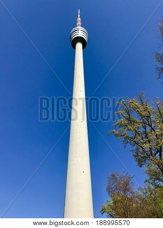 The TV Tower in Stuttgart, Germany - the first tv broadcasting tower of the world