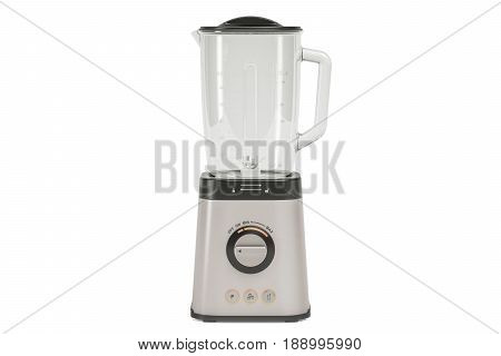 Electric blender 3D rendering isolated on white background