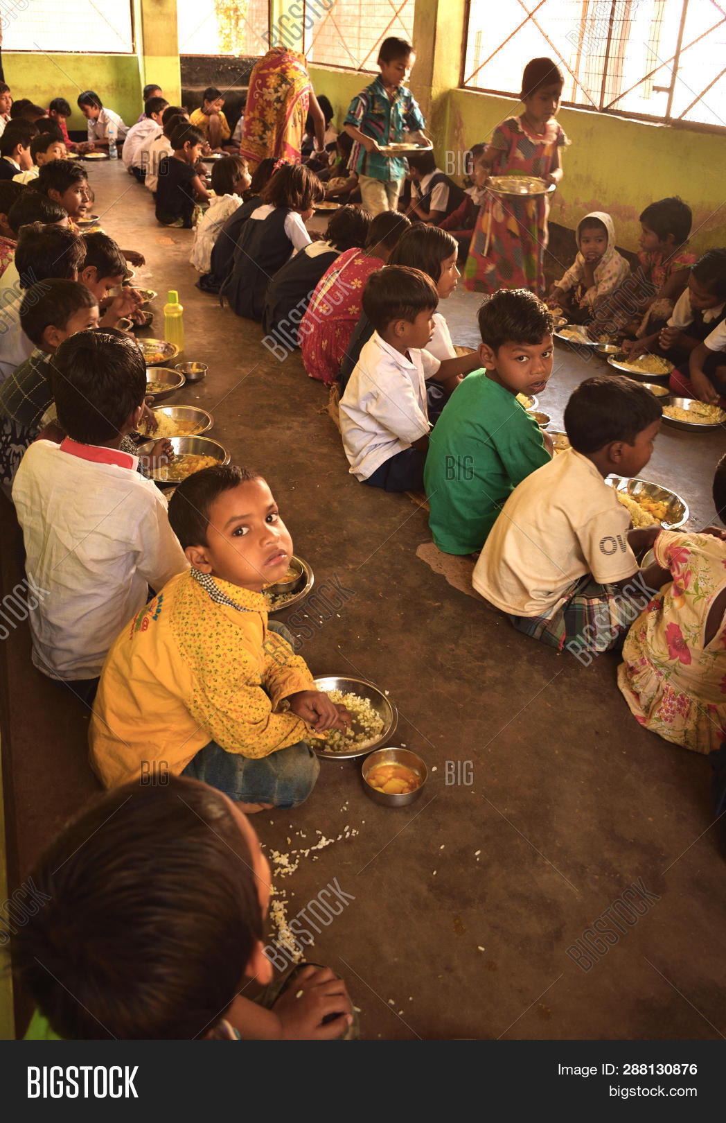 Mid Day Meal Program, Image & Photo (Free Trial) | Bigstock