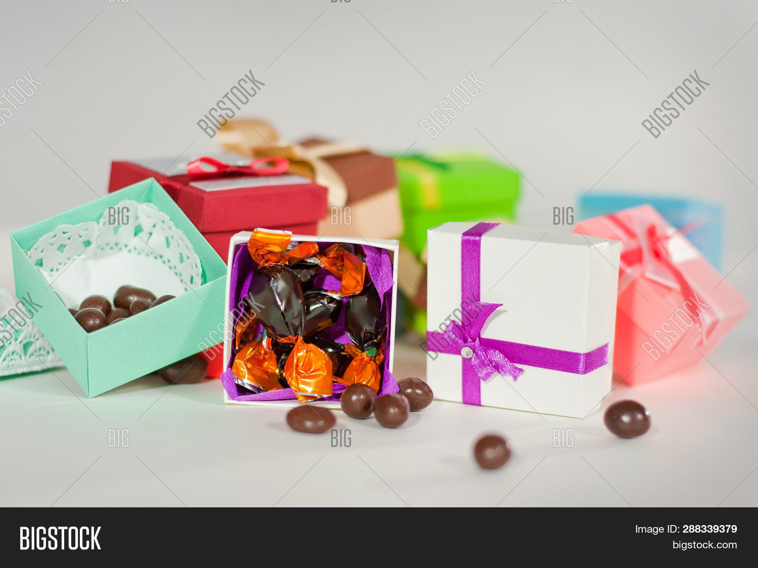 Handmade Paper Boxes Image Photo Free Trial Bigstock