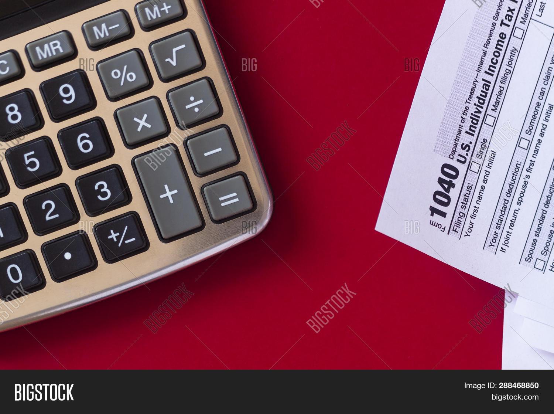Us Tax Form 1040 Image & Photo (Free Trial) | Bigstock