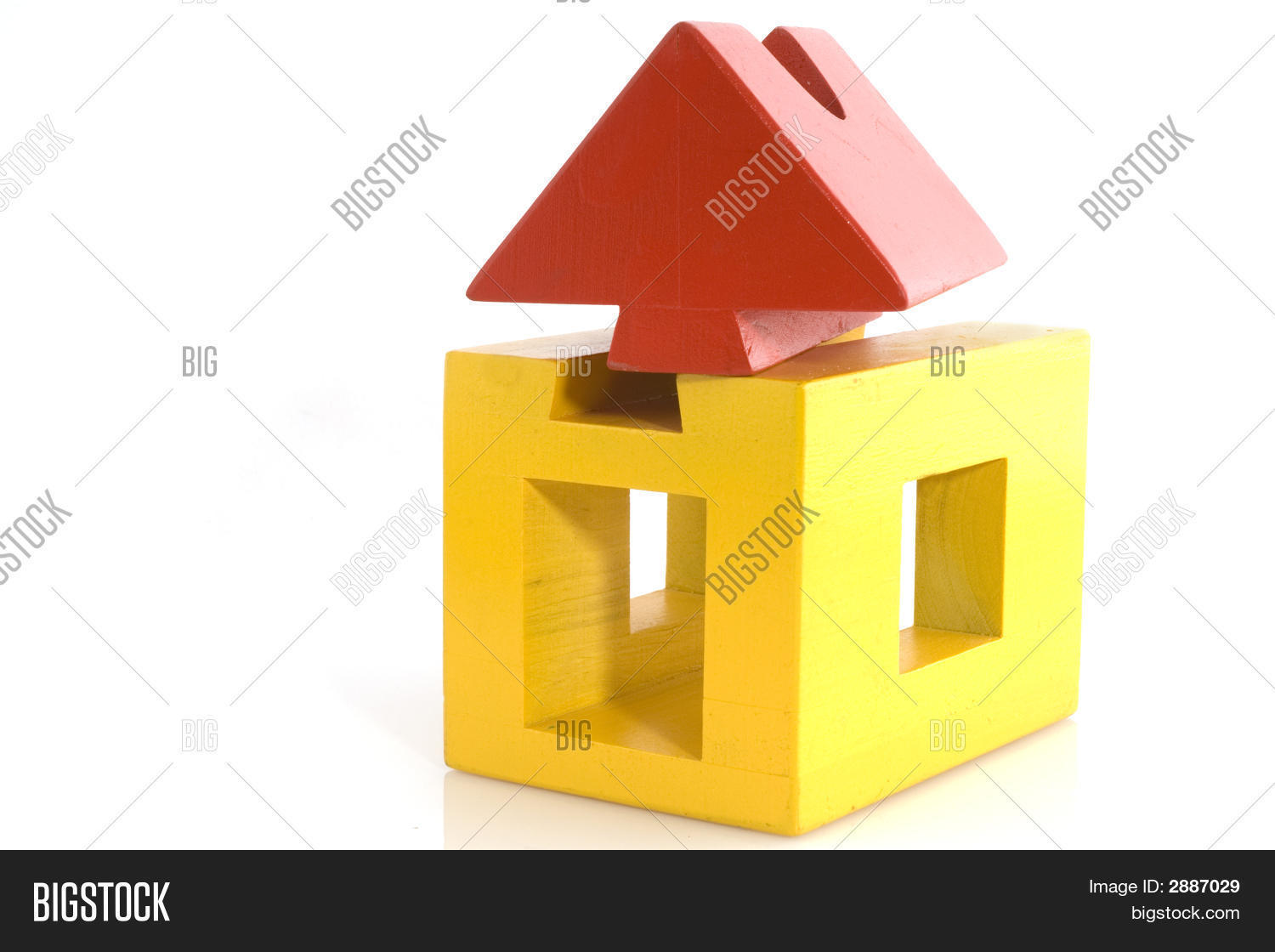 Yellow red house image photo bigstock for Yellow and red house