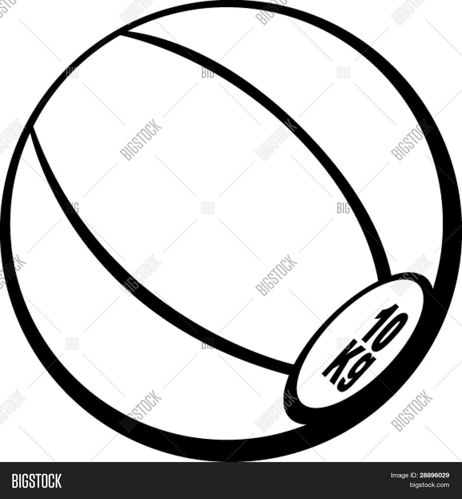 medicine ball vector photo free trial bigstock rh bigstockphoto com medicine ball vertical throw medicine ball vector