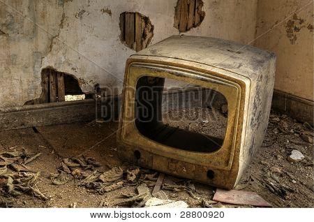 Broken Television