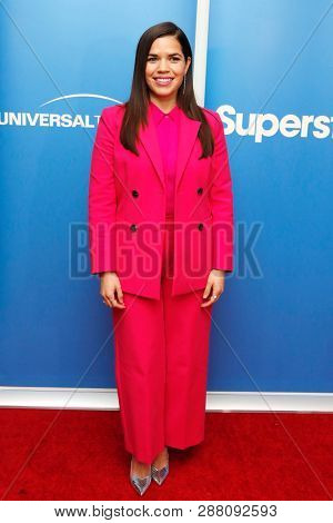 LOS ANGELES - MAR 5: America Ferrera at the NBC And Universal Television's 'Superstore' Academy For Your Consideration Press Line at Universal Studios on 5 March, 2019 in Los Angeles, CA