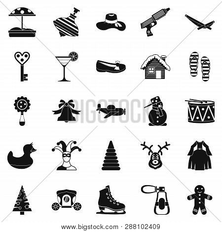 Guys Icons Set. Simple Set Of 25 Guys Icons For Web Isolated On White Background