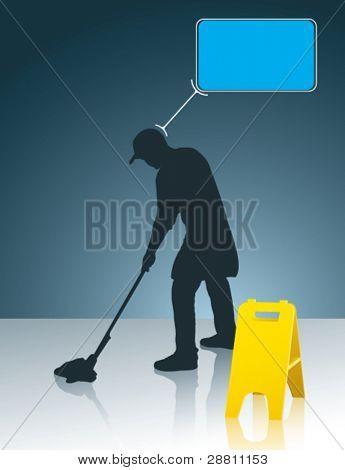 wet floor cleaner