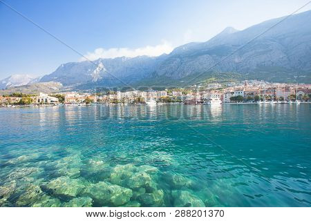Makarska, Dalmatia, Croatia, Europe - Nature Is Beautiful At The Coastline Of Makarska