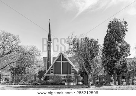 Pretoria, South Africa, July 31, 2018: The Dutch Reformed Church Lyttelton-east In Centurion In The