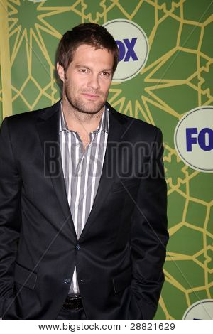 LOS ANGELES - JAN 8:  Geoff Stults arrives at the Fox TCA Party - Winter 2012 at Castle Green on January 8, 2012 in Pasadena, CA poster