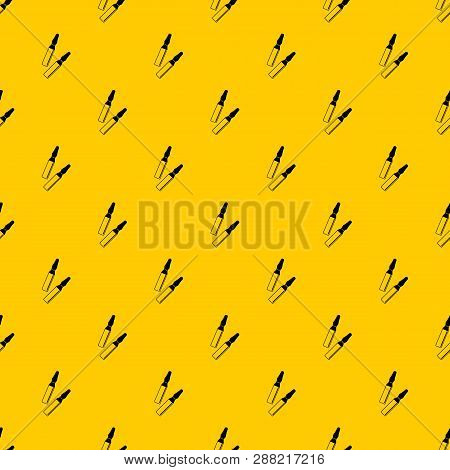 Iodine Sticks Pattern Seamless Vector Repeat Geometric Yellow For Any Design
