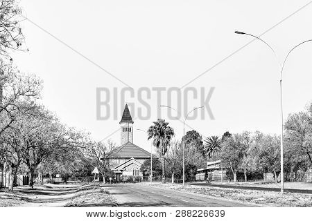 Virginia, South Africa, August 2, 2018: The Dutch Reformed Church In Virginia In The Free State Prov
