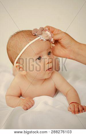 Baby Goods Shop For Happy Newborn Baby. Baby Shop For Newborn. Love And Care For Happy Baby. Enjoy Y