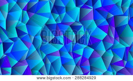 Cerulean And Blue Backdrop. Clear Crystal Bg
