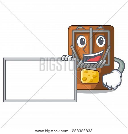 With Board Mousetrap In The A Character Shape