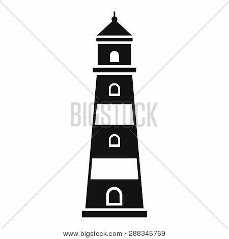 Coast Lighthouse Icon. Simple Illustration Of Coast Lighthouse Icon For Web Design Isolated On White