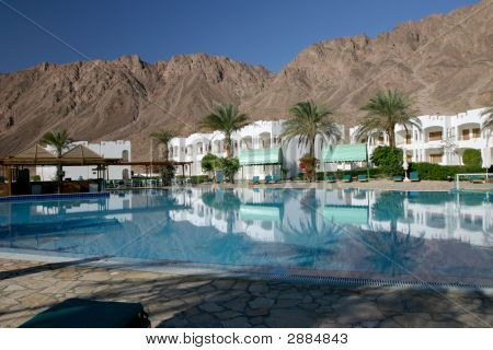 Resort in Dahab Ägypten