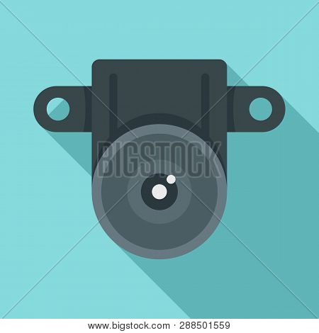 Action Small Camera Icon. Flat Illustration Of Action Small Camera Icon For Web Design